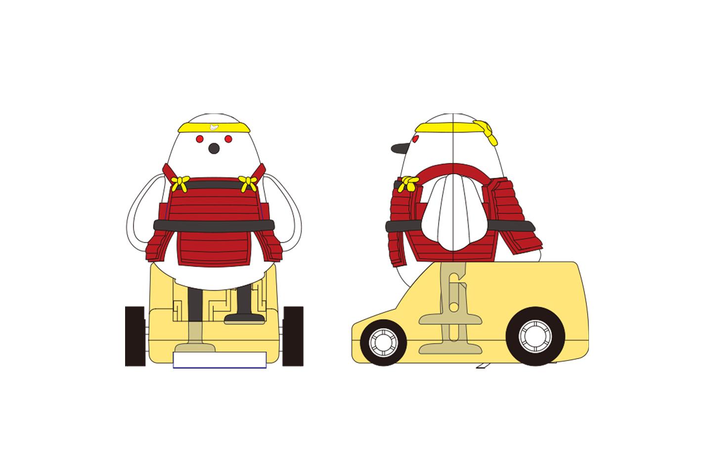 提案段階初期の2Dデザイン