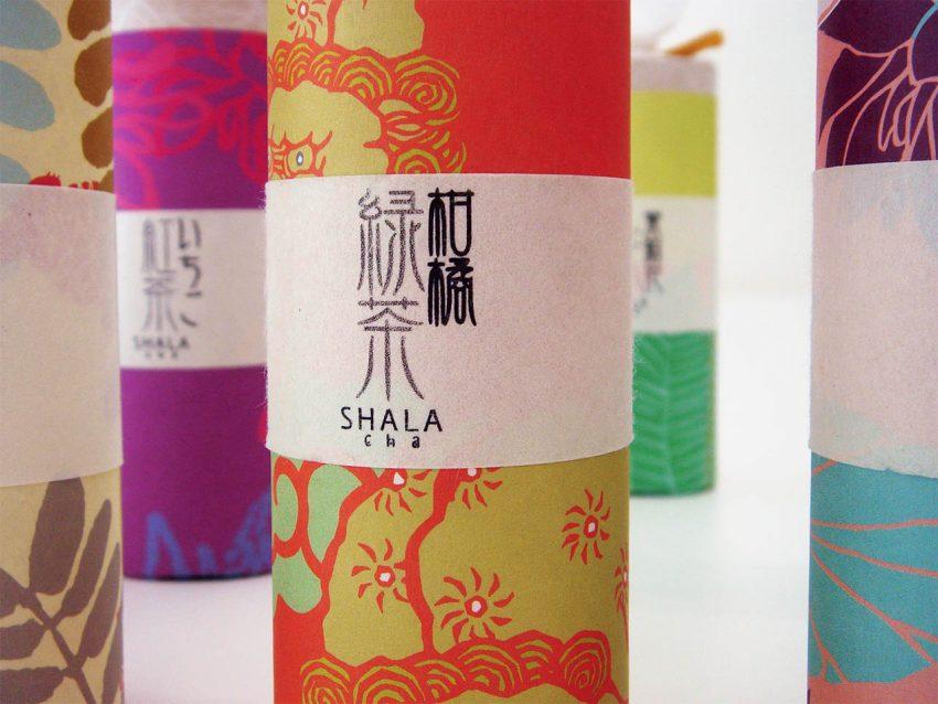 シャラ SHALAのパッケージ(お茶)