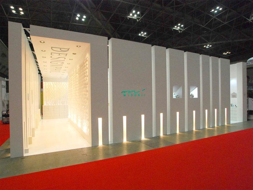 デザインフィル 展示会ブース設計施工(ISOT2007)