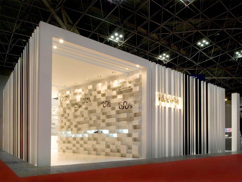 デザインフィル 展示会ブース設計施工(ISOT2008)