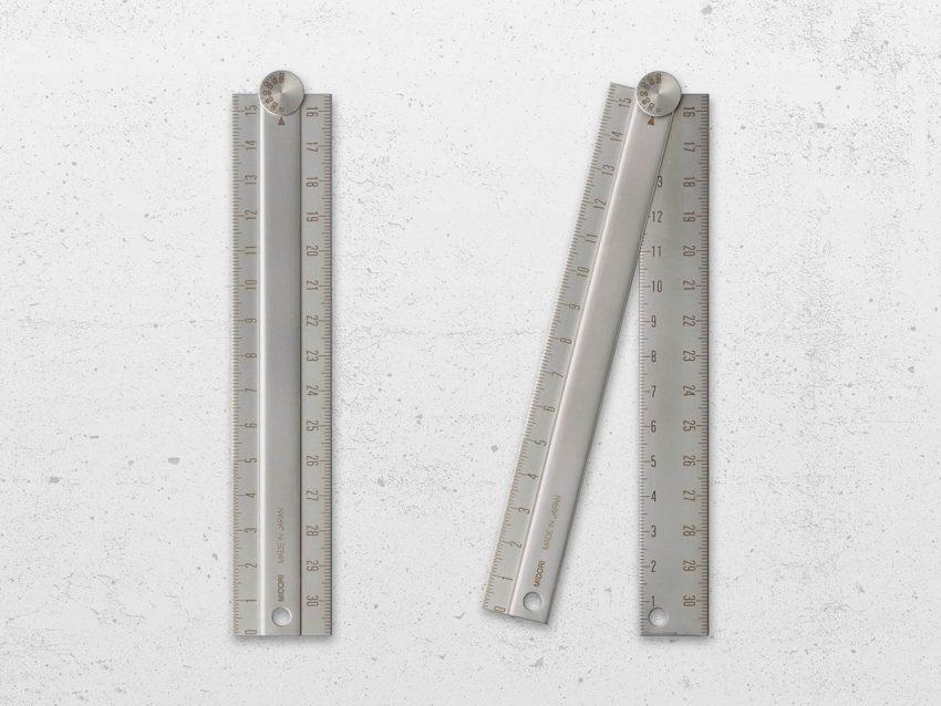 ミドリ『ステンレス マルチ定規<31cm>』